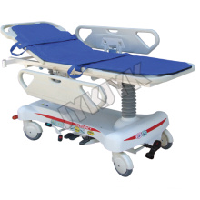 Hydraulic Rise-and-Fall Hospital Stretcher Cart
